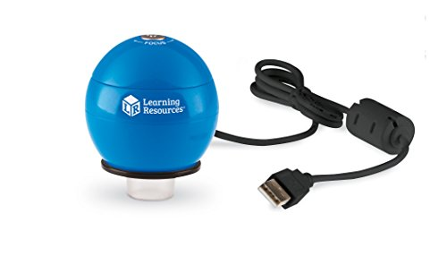 Learning Resources Zoomy 2.0 Handheld Digital Microscope (Best Quality Option)