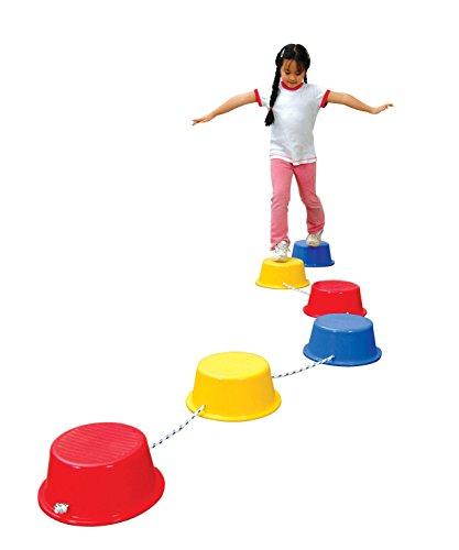 School Smart Stepping Buckets Balance Builders - Best Budget Option