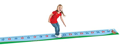 Learning Resources Number Line Floor Mat