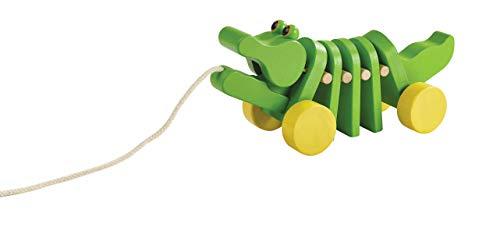 PlanToys Dancing Alligator Pull Toy (5105)