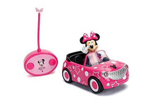 Disney Junior 7.5in. Minnie Mouse Roadster RC Remote Control Car (Best Budget Option)