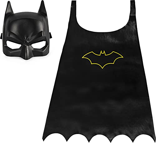 BATMAN Classic Mask and Cape Set for Role-Play Dress-Up