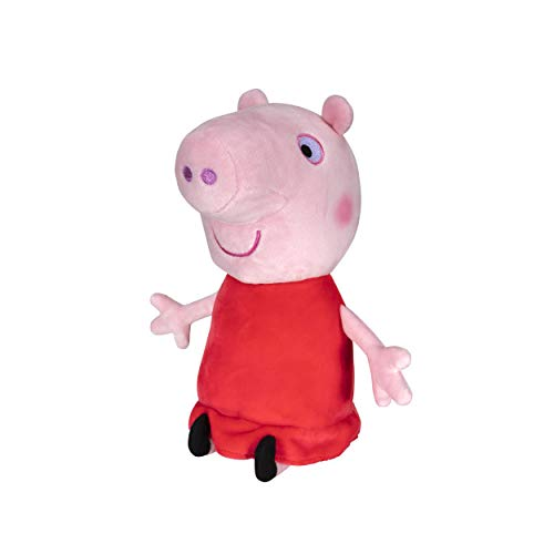 Peppa Pig Plush, 8 Inch Tall, Soft and Squishy Plush from The World of Peppa