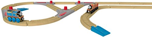 Fisher-Price - Thomas & Friends Wood, Turnout Track Pack (Best Eco-Friendly Option)