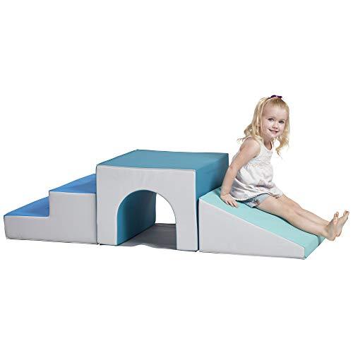 ECR4Kids SoftZone Single-Tunnel Foam Climber