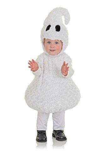 Underwraps Toddler's Halloween Ghost Belly Babies Costume