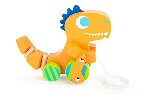 Small Foot 10463 Dino Pull-Along Toy