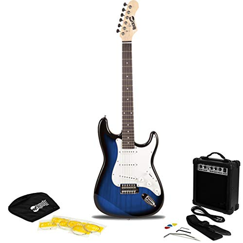 RockJam RJEG02 6 String Electric Guitar