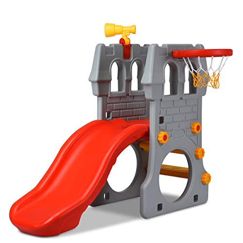 Costzon Toddler Slide, 4 in 1 Climber Slide Set - Best Boy's Option