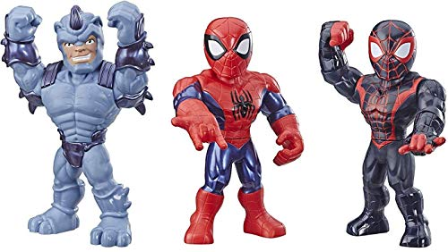 Playskool Heroes Mega Mighties Marvel Super Hero Adventures Web Warriors 3 Pack