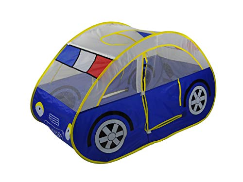 GigaTent Police Car Play Pop-Up Tent (Best Budget Option)