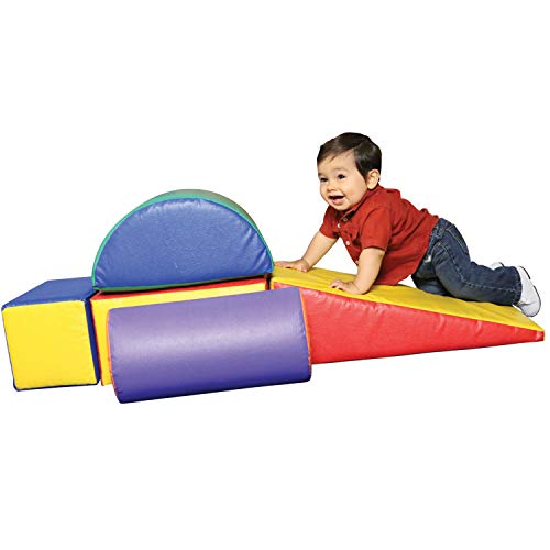 Constructive Playthings 5 Piece Lightweight Vinyl Soft Play Forms [Great Option for 2 year Olds ]