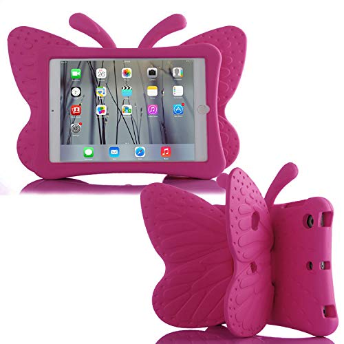 Simicoo iPad 7 8 10.2 3D Cute Butterfly Case (Best Budget Option)