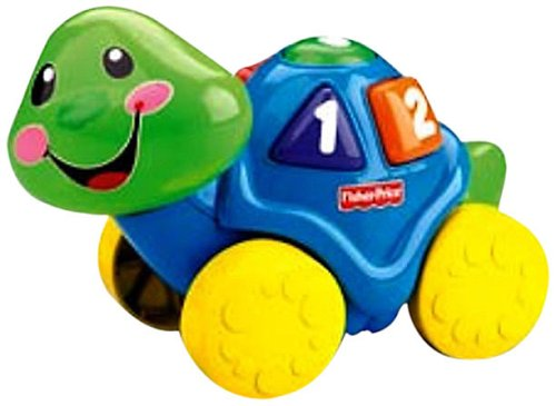 Fisher-Price Laugh & Learn Roll-Along Turtle