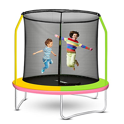 ROANUDE Trampoline with Enclosure Safety Net
