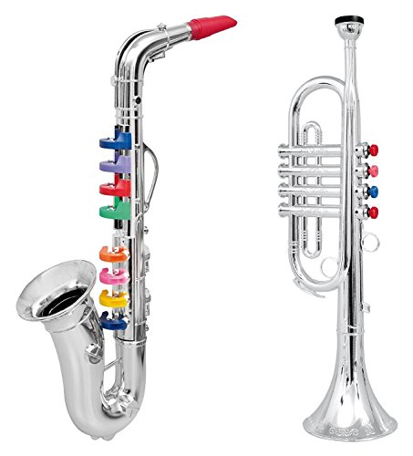 Click n' Play Set of 2 Musical Wind Instruments