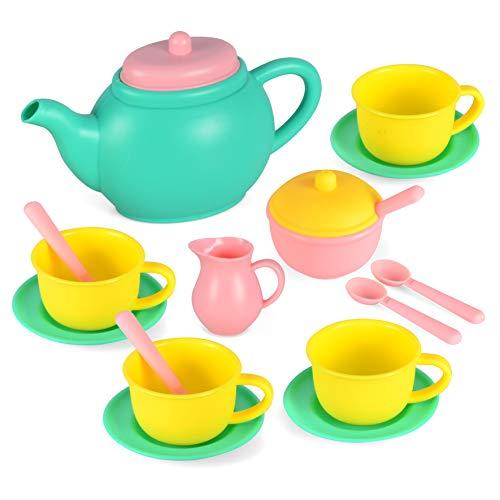 JOYIN Pretend Play Tea Party Set