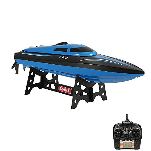 Goolsky H100 2.4G RC Boat Remote Controlled 180° Flip 20KM/H High-Speed Electric Submarine (Best Quality Option)
