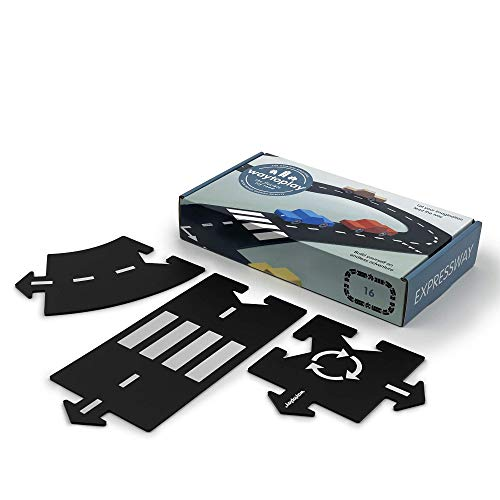 Waytoplay, Expressway Black with White Striping (Best Quality Option)