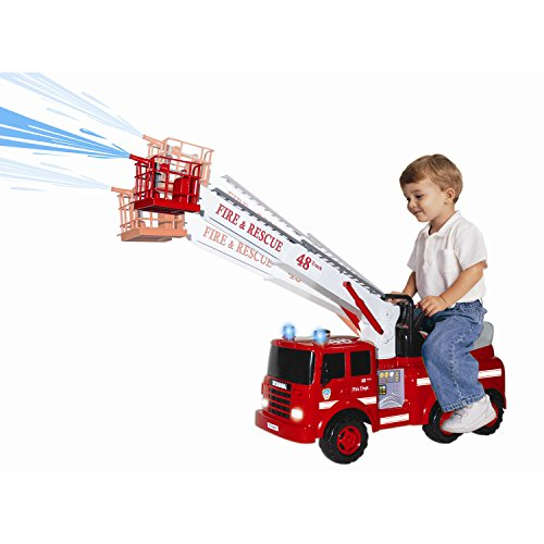 SKYTEAM Action Fire Engine Ride-On
