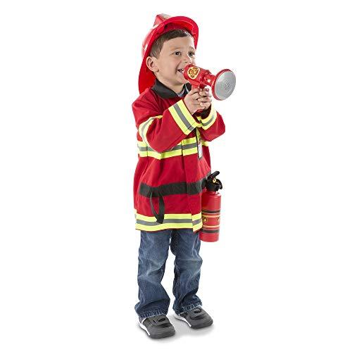 Melissa & Doug Fire Chief Role Play Costume