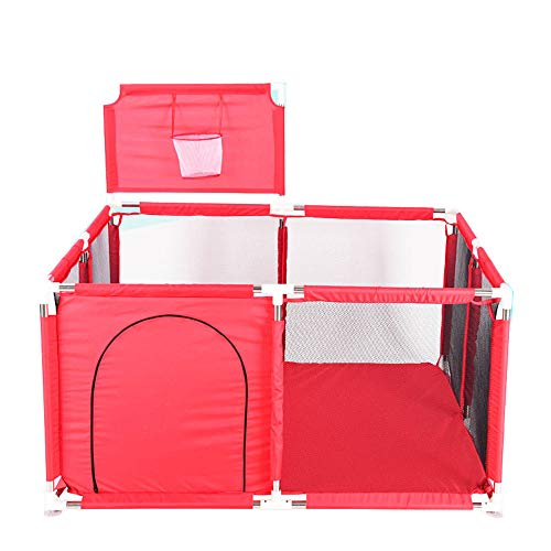 Playpen Playard Fence with Basketball Hoop (Best Budget Option)