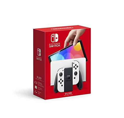 Nintendo Switch (OLED model) w/ White Joy-Con