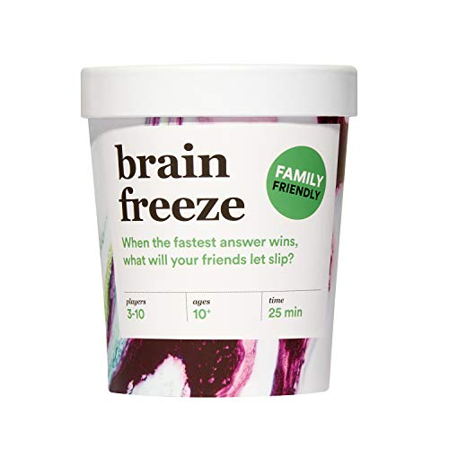 Brain Freeze Family Card Game: The Speak-Before-You-Think Party Game for All Ages - Family Edition