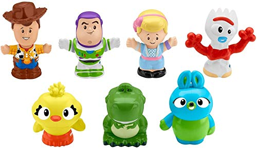 Toy Story Disney 4, 7 Friends Pack by Little People - Best Bath Time Option