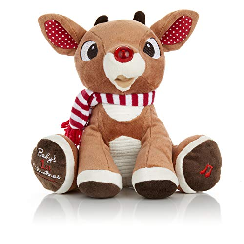 Rudolph the Red-Nosed Reindeer Baby's First Christmas Plush