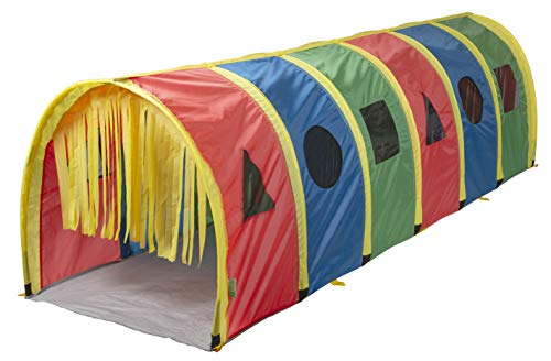 Pacific Play Tents 95200 Kids Super Sensory 9-Foot D Style Institutional Crawl Play Tunnel