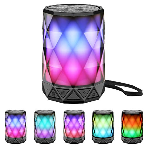 LED Portable Bluetooth Speakers with Lights