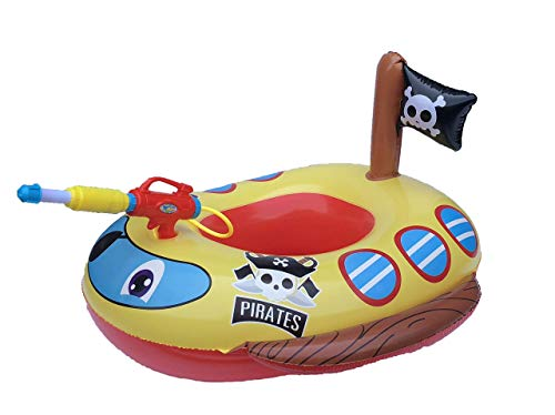 Big Summer Inflatable Pirate Boat