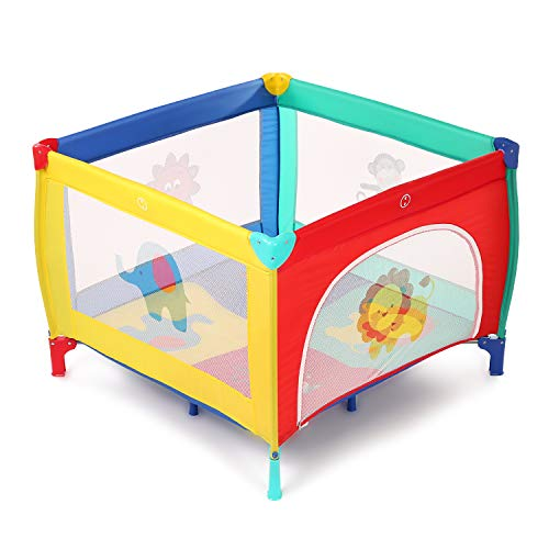 Baby Play Portable Playard Playpen with Mattress