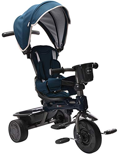 ChromeWheels 4-in-1 Kids' Trike & Stroller