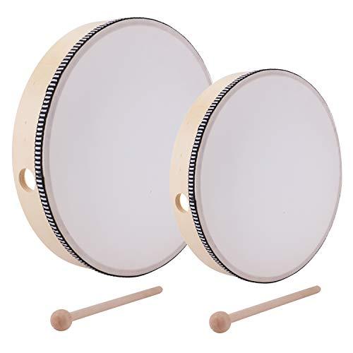 Foraineam 10 Inch & 8 Inch Hard Drum