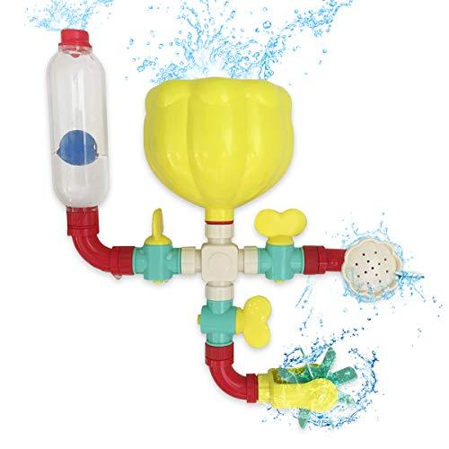 Lydaz Pipe Bath Toys with Fun Widgets