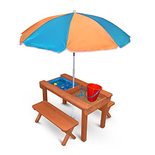 Back Bay Play Kids Sand and Water Table