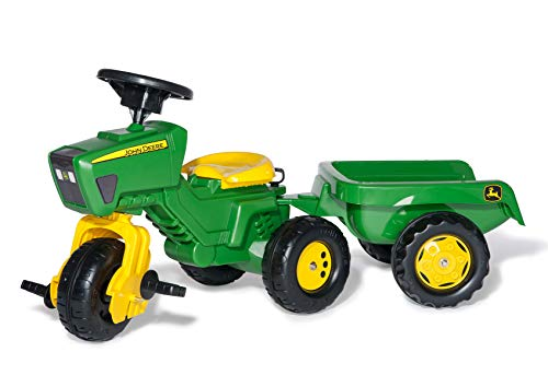 Rolly Toys John Deere Three Wheel Trac Pedal Tractor