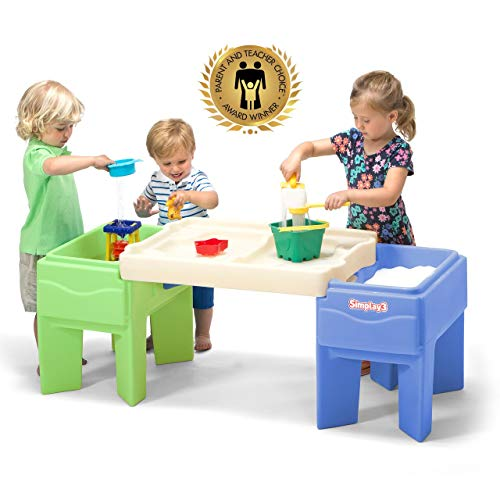 Simplay3 Kids Indoor Outdoor Sand and Water Activity Table