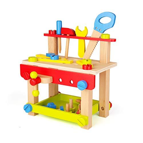 Sainsmart Jr. Wooden Tool Workbench-Best Workbench Budget Option