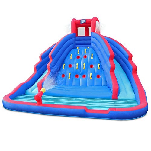 Deluxe Inflatable Water Slide Park (Best Quality Option)