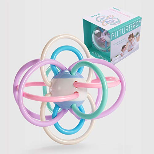 Newborn Baby Rattle and Teether Ball