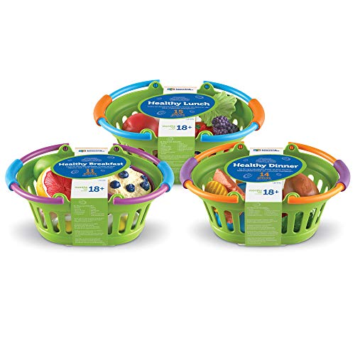 Learning Resources New Sprouts Healthy Foods Basket Bundle