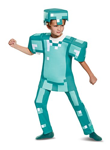 Armor Deluxe Minecraft Costume (Best Quality Option)