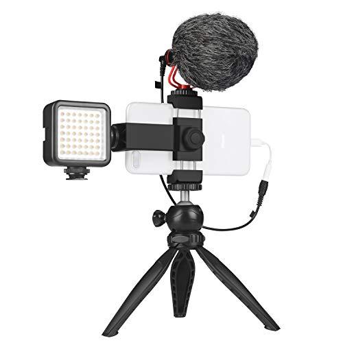 Smartphone Video Microphone Kit