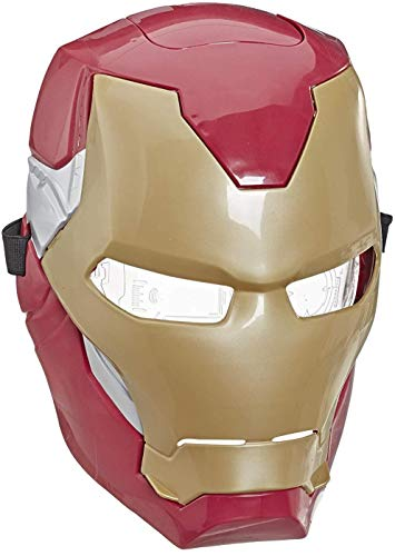 Avengers Marvel Iron Man Flip FX Mask with Flip-Activated Light Effects