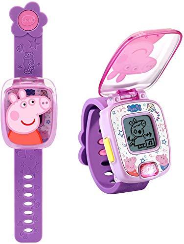VTech Peppa Pig Learning Watch, Purple (Best Budget Option)