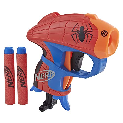 NERF Microshots Marvel Spider-Man (Best Quality Option)