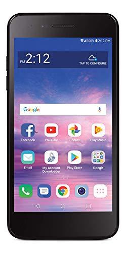 LG Rebel 4 4G LTE Prepaid Smartphone - Black